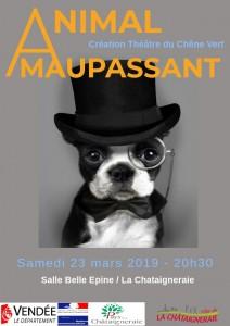 Affiche Animal Maupassant - 23032019